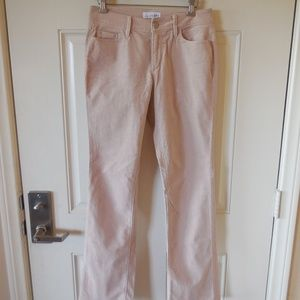 Ann Taylor LOFT Made and Loved Corduroy Pants Beig